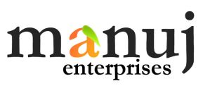 Logotype for Manuj Enterprises by MadreMedia