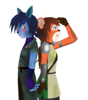 Hanso and Brynn by willwork4food