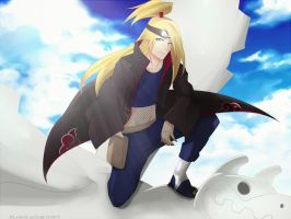Happy birthday Deidara! by PunksGoneDaft