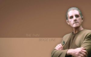 The Thin Beige Line by jimhatley