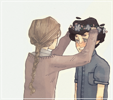 courf + jehan by thorxpoptarts