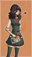 Miss Granger by sneakycreatures