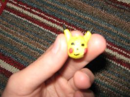 Pikachu Pokemon Phone Charm by Pau--chan