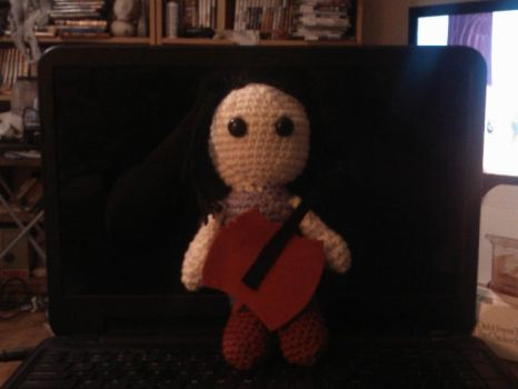Amigurumi Marceline the Vampire Queen by lilith210