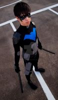 Young Justice Nightwing - Dick Grayson by FluxTideDesigns