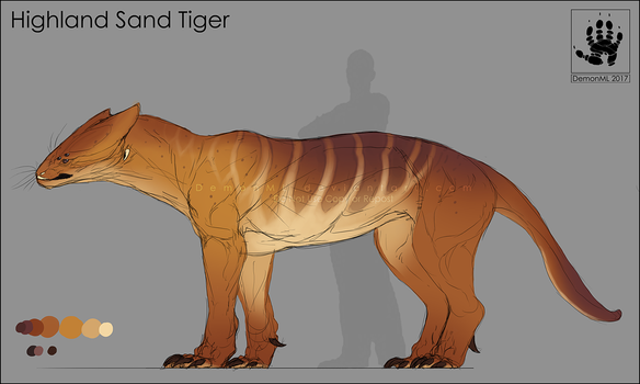 Highland Sand Tiger by DemonML