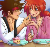 Let Me Feed You Cake by Azuhra