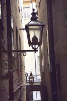 Old town lantern by mkrtchyan