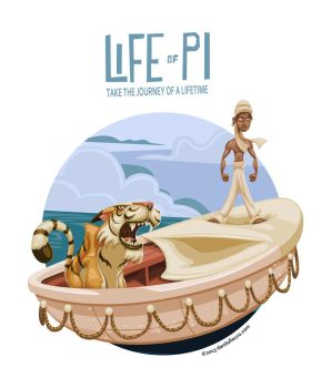 Life of Pi Fan Art by DaniloFiocco