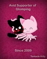 Tentacle Kitty Supports Glomps by TentacleKitty