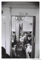 Train passagers by Ockie