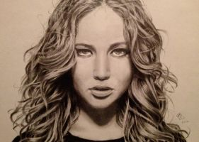 Jennifer Lawrence by browens13