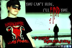 'I'll find you' Ad 2011 by Matt-Walton-Design