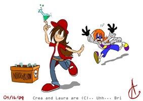 Crea and Laura for Bri by Atrox-C
