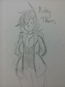 Welp- heres my main OC i guess by CaptainDoughnuts