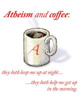 Atheism and Coffee... by MuseSusan