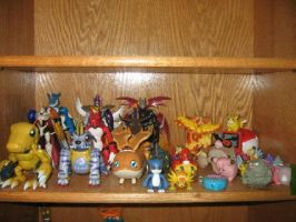 My Digimon Pokemon Shelf Drft by Animasters