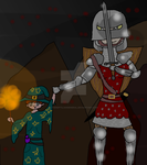 Something lurking in the dark. by Armygeneral13