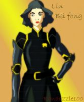 Lin Bei Fong(Legend of Korra Fan Art) by Randazzle100