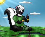 Mustal Finds Some LEGOs? by illogicalFerret