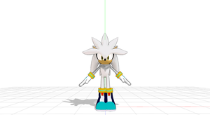 (MMD):JK Silver The Hedgehog FIX!!!!!!!!!! by Modern-Sonic