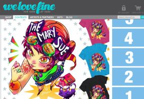I'm The Mary Sue - WeLoveFine contest entry by Mako-Fufu