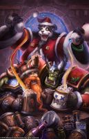 Warcraft - Holiday Card 2012 by SamwiseDidier
