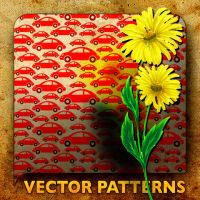 Vector Patterns VW yellow flow by paradox-cafe