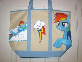 Rainbow dash tote by Miss-Melis