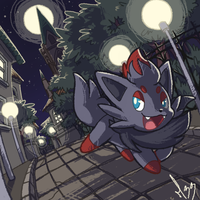 Zorua by Mad-Stalker