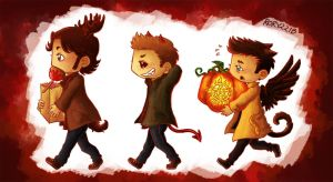 SPN - Halloween by Rory221B