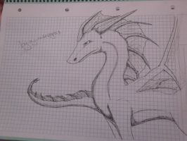 the aquatic spirit in the wing dragon by garasnegras