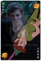OUAT Card Peter Pan by jeorje90