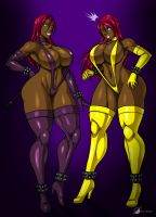 Commission: Twins? by Osmar-Shotgun