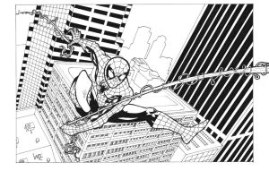 Spidey 2012 ink by primusjim