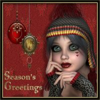seasons greetings by Jazzine