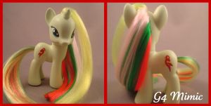 G4 Mimic - custom pony by hannaliten