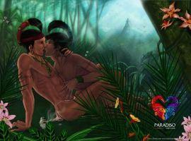 Mayan Gay Love by Calaverita