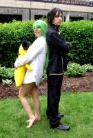 Acen 2010: CC and Lelouch by PMconfection
