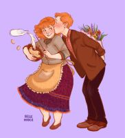 HPShipweeks : Week 3 - Molly/Arthur by IzziBelle