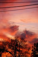 Fire in the Sky by WidoPhoto