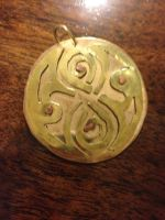 Seal of Rassilon Pendant (WIthout Chain) by FoxFire-47133