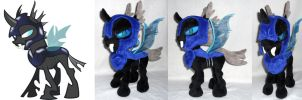 Armored Changeling by agatrix