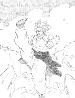 Broly by SoDrawnOut