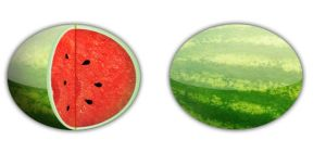 Watermelon - Dock Icons by jeremebp