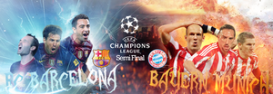 FC Barcelona VS. Bayern Munich by WALIDINHOOO