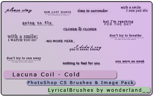 Lacuna Coil - Cold by Foxxie-Chan
