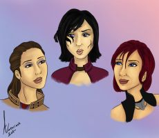 Bioware The Girls by Aztarieth