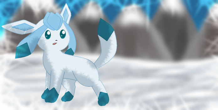 [REMAKE] Glaceon by Shaded-Velvet