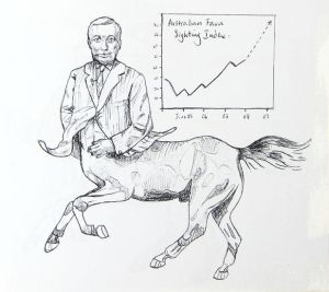 The mythological economist